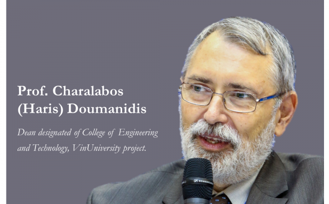 Professor Charalabos (Haris) Doumanidis Ph.D. – Dean of College of Engineering and Computer Science