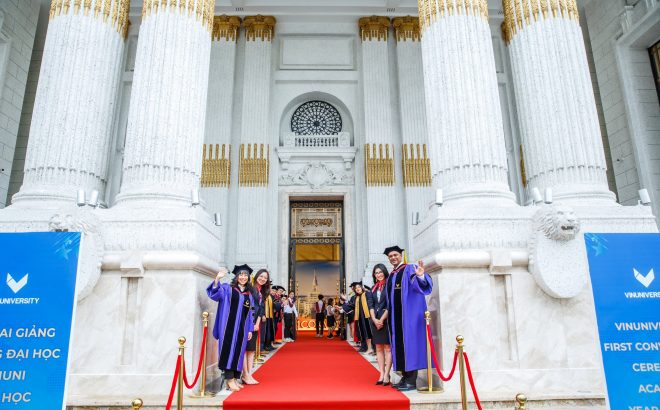 Vinuni's First Convocation – Take Off