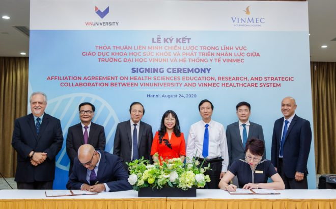 VinUniversity – Vinmec Signing Ceremony: A Milestone in Medical Education