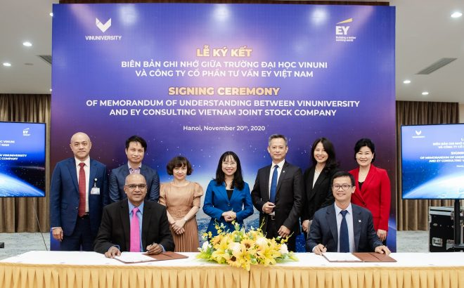 Cooperation between VinUni And EY – The Golden Opportunity for Internships at World-Leading Enterprises