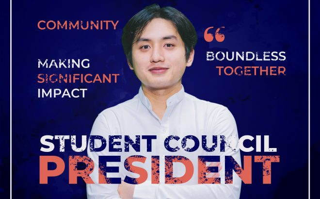 Welcome VinUniversity's First Student Council President