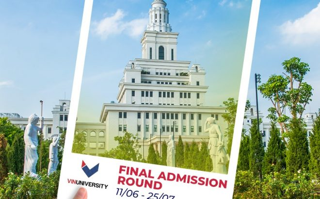 VinUniversity Final Admission Round is open