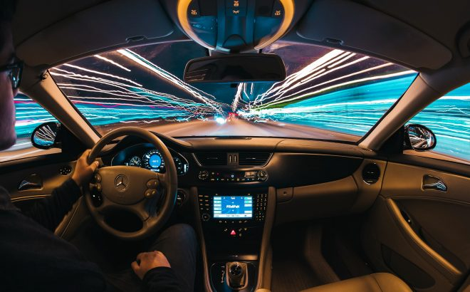 VinUniversity students participate in a research project related to privacy protection on autonomous vehicle systems