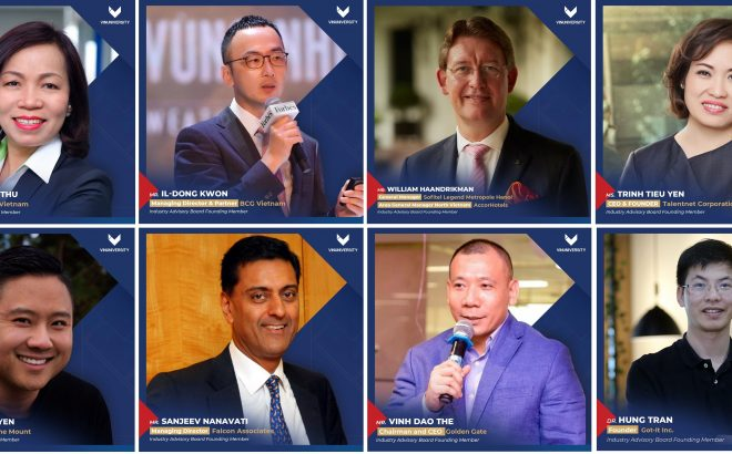 Chairmen, Founders, and CEOs of many corporations join VinUniversity's Industry Advisory Board